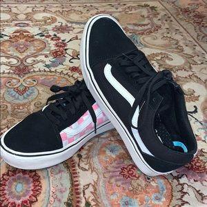 Vans Comfy Cush old skool checkered sneaker
